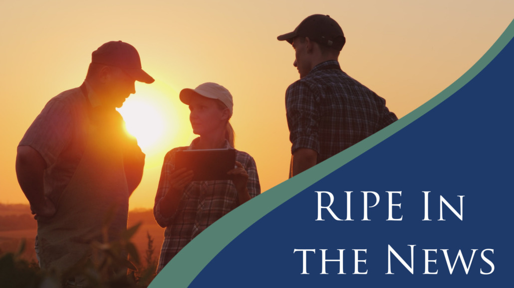RIPE in the News graphic